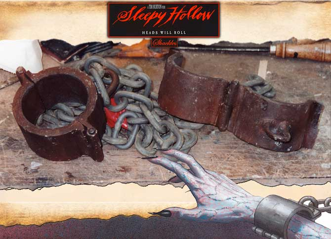 Sleepy Hollow Shackles